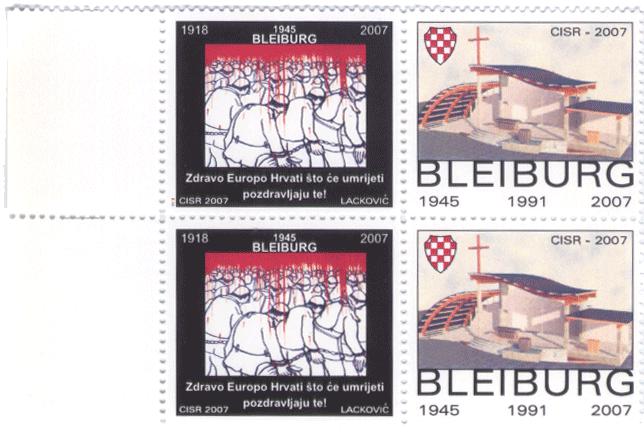 Bleiburg memorial stamps 2007