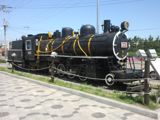 Engine 7 of the Suwon to Inchon narrow gauge railway.