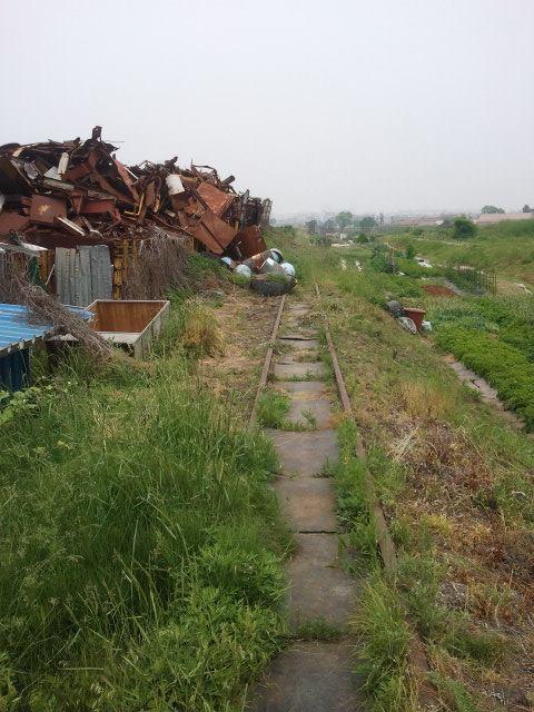 Scrap metal dealer near Suwon.