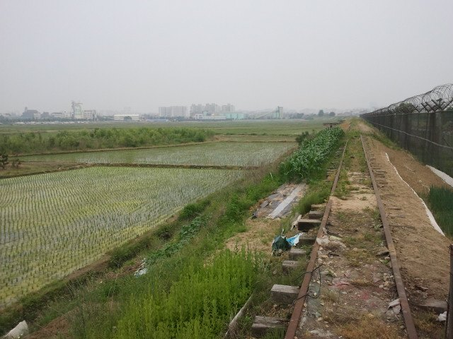 View east towards Suwon.